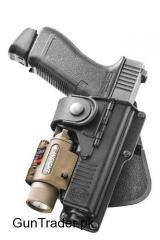 FOBUS Glock 19 Holster WITH LIGHT
