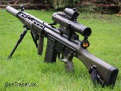 G3 Look Turkish Sniper Air Rifle very powerful and excellent accuracy Red DoT Target