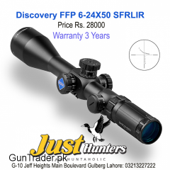 Discovery Optics Scope FFP 6-24X50 SFRLIR RF Reticle