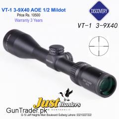 Discovery Optics Scope VT-1 3-9X40AO 1/2 Mildot