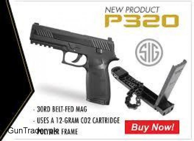 sigsauer p320 dvanced sport pellet co2 pistol cal.177 [430fps] japan made