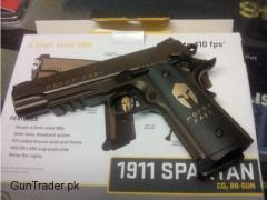 Sig Sauer 1911 Spartan 4.5mm Blowback Co2 BB Air Pistol