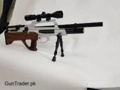 Semiautomatic Airgun available in .22cal .25 cal  .30 cal  very smooth or accurate