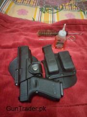 Glock Hostler with magzine Pouch